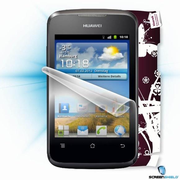 ScreenShield fólie na displej + skin voucher (včetně popl. za dopr. k zákazníkovi) pro Huawei Y200
