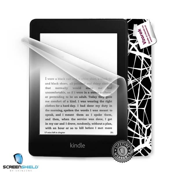 ScreenShield fólie na displej + skin voucher (včetně poplatku za dopravu k zákazníkovi) pro Amazon Kindle Paperwhite 2