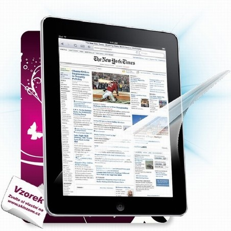 ScreenShield fólie na displej + skin voucher (včetně poplatku za dopravu k zákazníkovi) pro Apple iPad 4