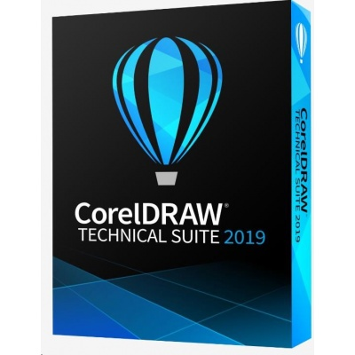 CorelDRAW Technical Suite 2019 Enterprise License (251+) - EN/DE/FR