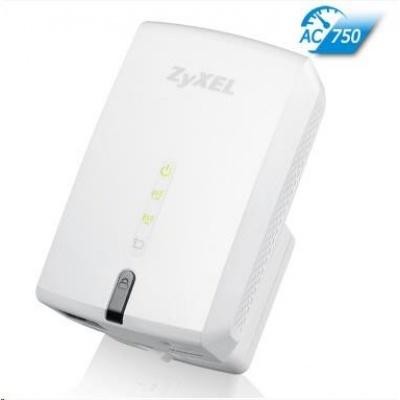 Zyxel WRE6505 v2 Wireless AC750 Range Extender, 1x 10/100 RJ45, repeater přímo do zásuvky