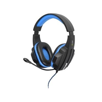 TRACER herní sluchátka s mikrofonem BATTLE HEROES Expert BLUE
