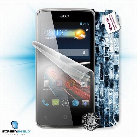 ScreenShield fólie na displej + skin voucher (včetně poplatku za dopravu k zákazníkovi) pro Acer Liquid Z4