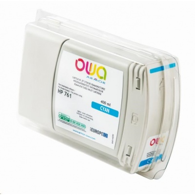 OWA Armor cartridge pro HP DesignJet T 7100, 400ml, CM994A, Cyan