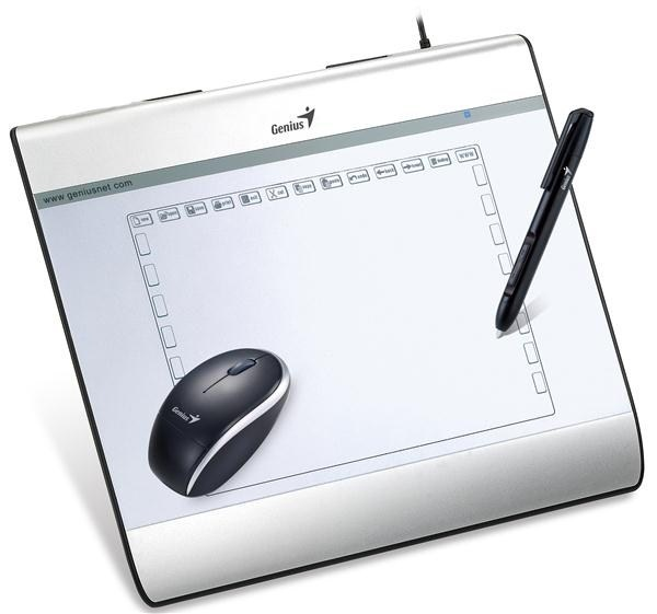 "GENIUS tablet MousePen i608X, 6""x8"""