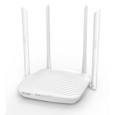 Tenda F9 Bezdrátový WiFi Router, wireless N600, 3x 10/100 LAN, 4x 6dBi anténa
