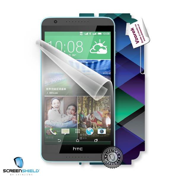 ScreenShield fólie na displej + skin voucher (včetně poplatku za dopravu k zákazníkovi) pro HTC Desire 820