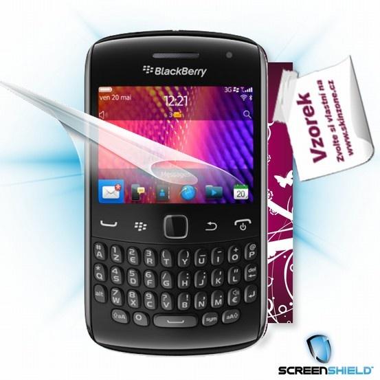 ScreenShield fólie na displej + skin voucher (včetně poplatku za dopravu k zákazníkovi) pro Blackberry Curve 9360